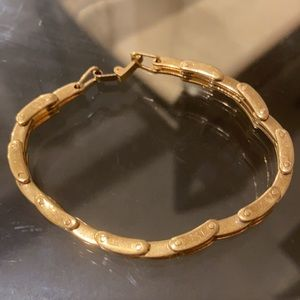 CLEARANCE Gold Linked Chain Bracelet (No Marks)
